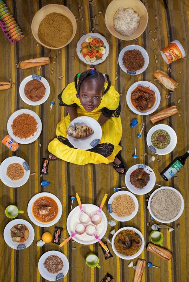 Sira Cissokho, 11, Dakar