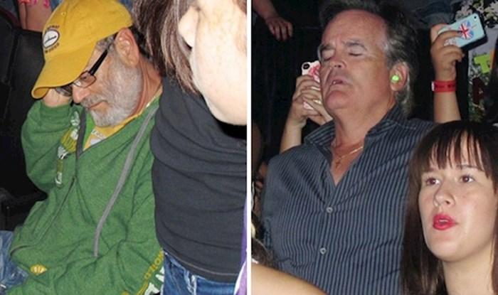 Urnebesne fotografije očeva koji su vrlo brzo požalili što su svoje kćeri pratili na koncert