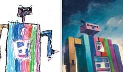 Umjetnici su se udružili kako bi rekreirali brojne dječje crteže u svom stilu