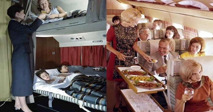 Vožnja avionom nekoć je izgledala malo drugačije, pogledajte zanimljive fotografije koje to dokazuju