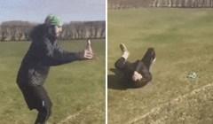 Muškarac je pokušao napraviti salto unazad s pivom u ruci, pogledajte kako je to završilo