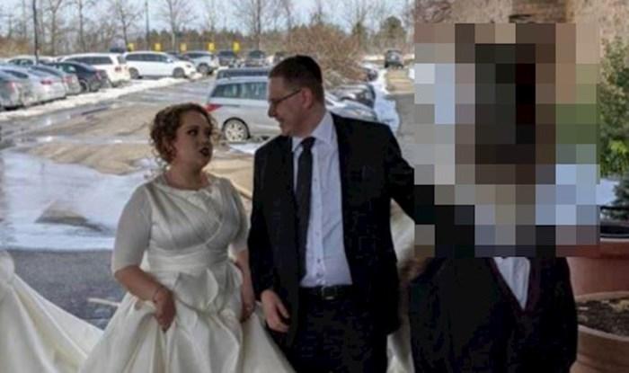Pogledajte tko je ovaj nepozvani gost na vjenčanju
