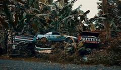 Napušteni auti pronađeni na Havajima na prekrasan način pokazuju nadmoć prirode