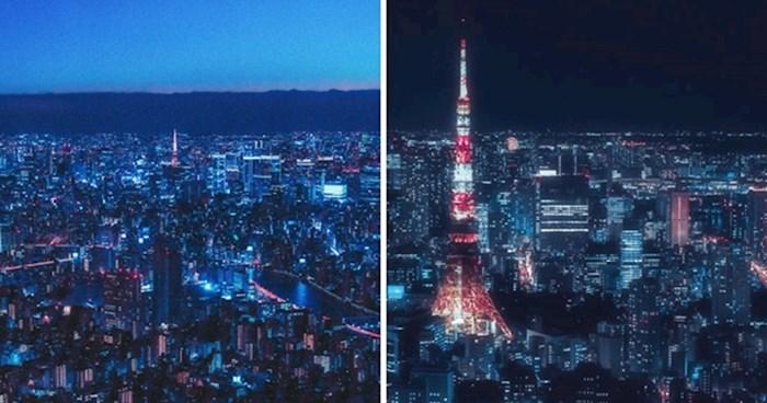 Pogledajte kako čarobno Tokio izgleda noću