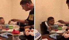 Nećete vjerovati kako je otac uvjerio dijete da uzme zalogaj