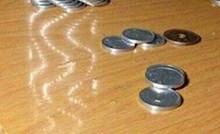 Muškarac napravio nevjerojatnu skulpturu od kovanica