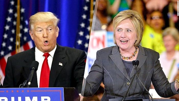 VIDEO Pogledajte kako bi Donald Trump i Hillary Clinton izgledali s bradom