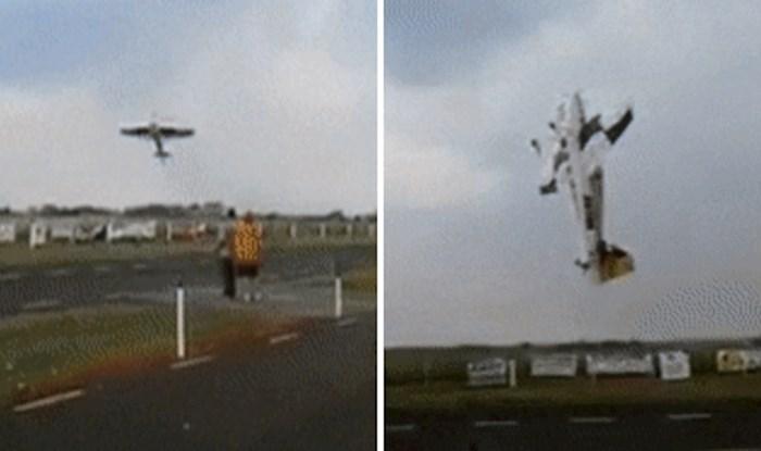 Akrobacije ovog aviona neće vas ostaviti ravnodušnima