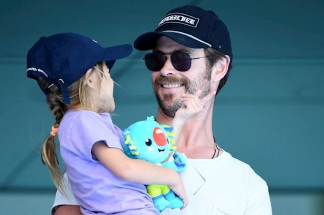 Chris Hemsworth i India Rose Hemsworth