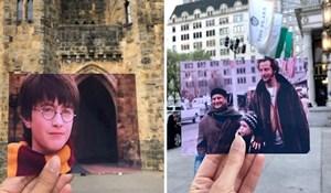 Djevojka posjećuje legendarne filmske lokacije i daje im novi život