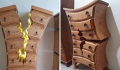 """Umirovljeni stolar proizvodi """"razbijene"""" ormare koji izgledaju kao da su iz Disneyjevih crtića"""