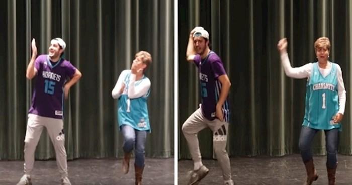 VIDEO Majka i sin osvojili publiku plešući uz hitove posljednjih desetljeća