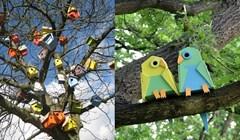 Umjetnik stvorio više od tri tisuće kreativnih kućica za ptice kako bi pokazao pozitivnu stranu ulične umjetnosti