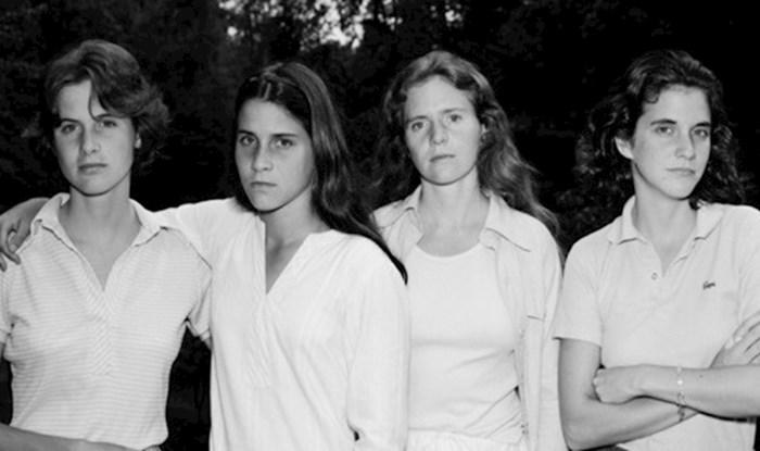 Ove sestre fotografirale su se jednom godišnje punih 40 godina