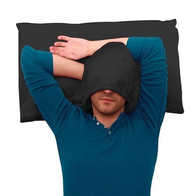 Ovaj jastuk s kapuljačom pomoći će vam u borbi protiv svjetlosti.