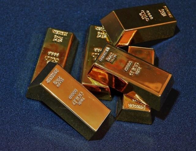 Zlatne poluge vrijedne 1.2 milijuna dolara