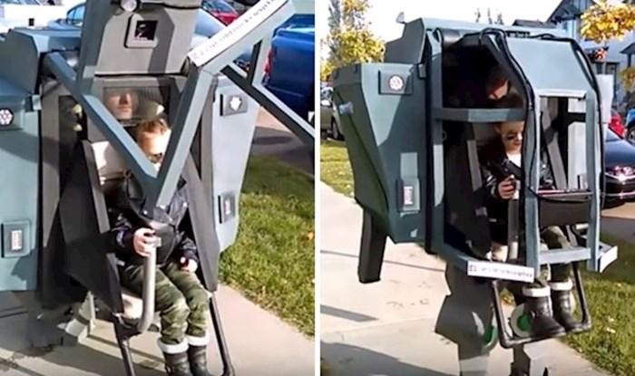 VIDEO Kreativni otac osmislio interaktivni kostim za sebe i kćer