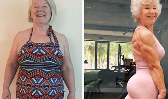74-godišnja žena uz pomoć kćeri uzela zdravlje u svoje ruke i izgubila 28 kilograma