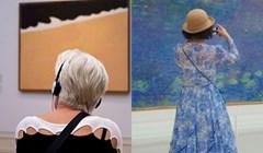 Fotograf provodi vrijeme u muzejima i slika ljude koji savršeno pašu uz umjetninu koju gledaju