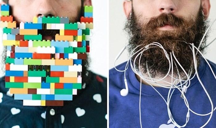 Ovaj muškarac u svoju bradu stavlja različite predmete, a prati ga 75 tisuća ljudi