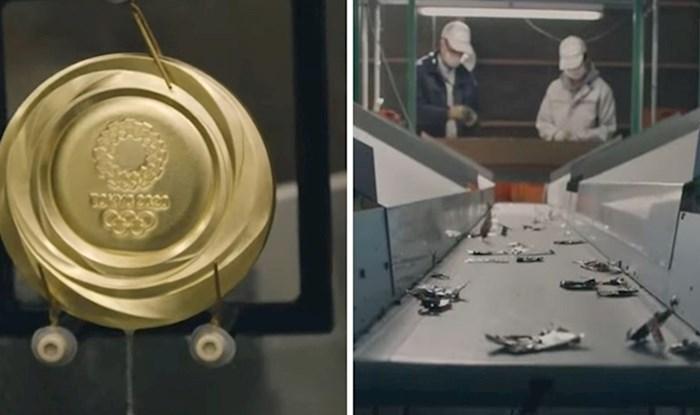 VIDEO Medalje za Olimpijske igre u Tokiju 2020. bit će napravljene od recikliranih mobitela