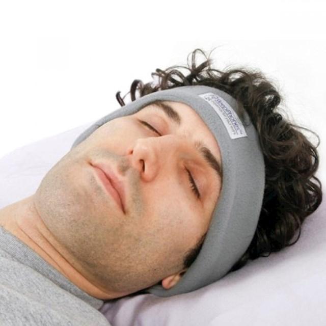 """Ova traka ima ugrađene """"slušalice"""", tako da možete zaspati uz muziku bez borbe s kabelima u krevetu."""