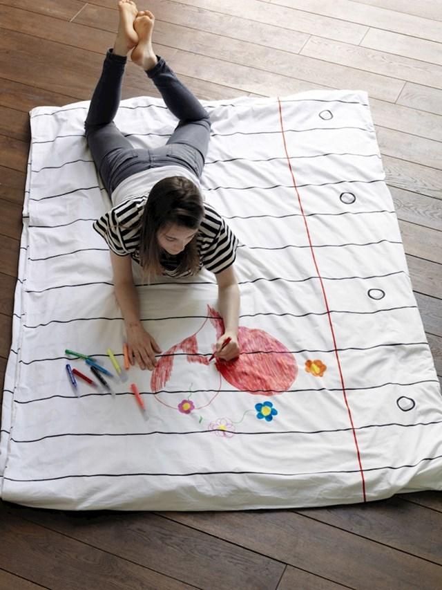 Probudite dijete u sebi ovom plahtom po kojoj možete crtati.