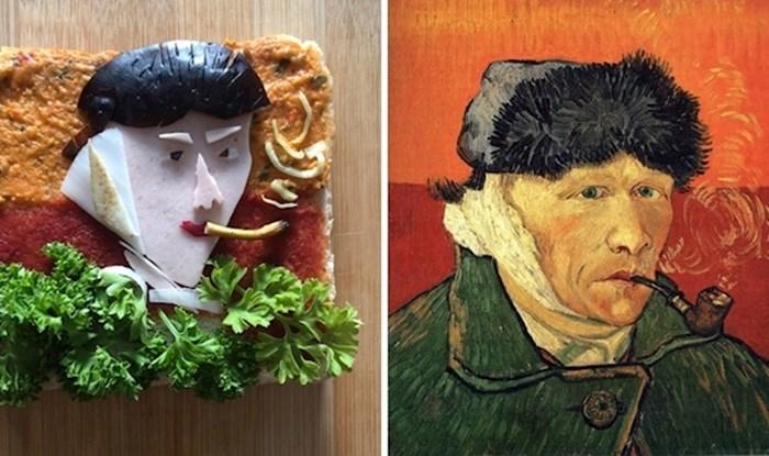 Pogledajte kako ljudi rekreiraju poznata umjetnička djela u obliku sendviča