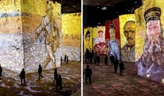 Umjetnički centar Carrières de Lumières krije čarobne projekcije djela slavnih umjetnika