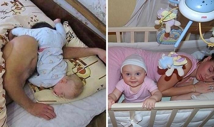 Biti roditelj nije lako, a ove urnebesne fotografije to i dokazuju