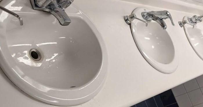 Možete li primijetiti što nije u redu s ovom kupaonicom?