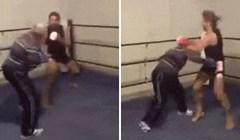Simpatični starac odlučio pokazati svoje umijeće u boksu, nećete vjerovati što se dogodilo
