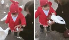 Pogledajte zašto je ova djevojčica zgrabila goluba