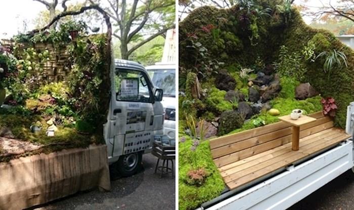 Ovi japanski mini kamioni umjesto tereta imaju prekrasne vrtove