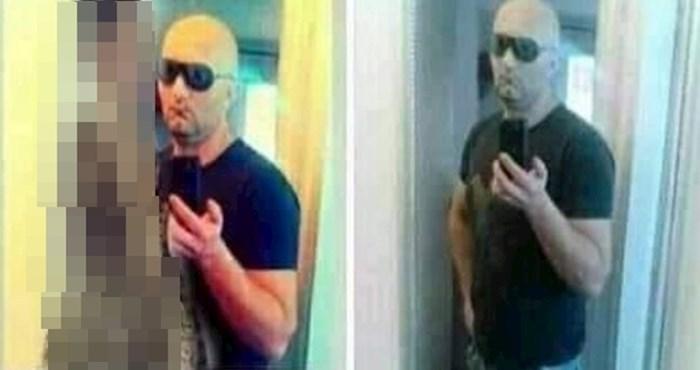 Muškarac dodaje slike raznih žena na jedno te istu sliku sebe, rezultat je urnebesan