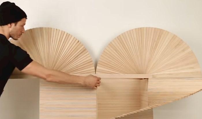 VIDEO Nevjerojatan dizajn namještaja za male prostore