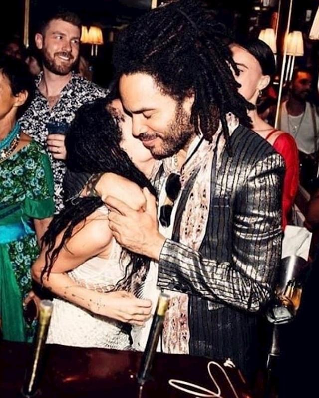Lenny Kravitz i Zoë Kravitz
