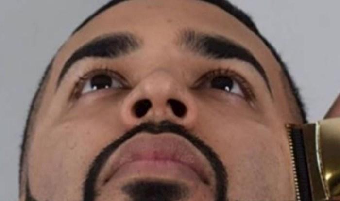 Nećete vjerovati kako je ovaj muškarac dao urediti svoju bradu