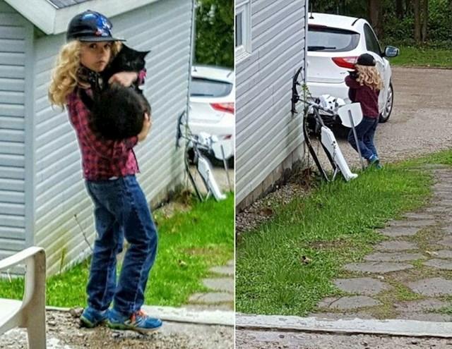 9. Naš 9-godišnji sin odlučio je pobjeći od kuće. Rekli smo mu da ga volimo i da se vrati ako mu nešto treba. Vratio se po mačku...