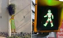 Likovi iz crtića zavladali su ulicama Barcelone zbog ovog zanimljivog umjetnika