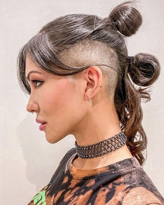 14. Genijalna frizura koju ova prelijepa žena fenomenalno nosi.