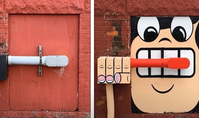 VIDEO Ovaj ulični umjetnik pretvara ulice New Yorka u stranice slikovnice