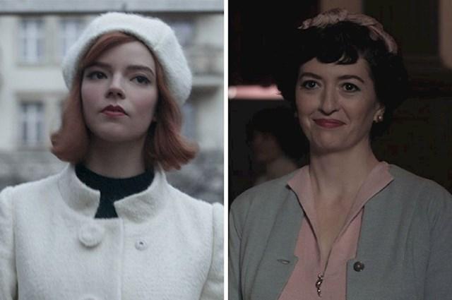 #7 Kako serija odmiče, tako Bethina šminka postaje sve sličnija Alminoj.