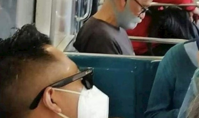 Fotka lika koji nije dopustio da mu maska pokvari stil postala je hit na društvenim mrežama