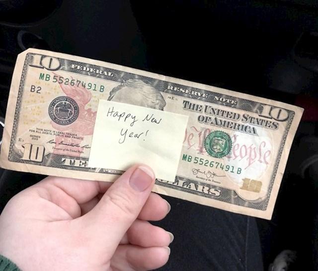 Našla sam ovo u šoping centru.