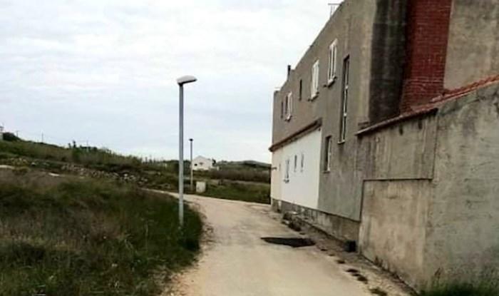 Da nije tužno bilo bi smiješno: Pogledajte na što sliči asfaltiranje u Dalmaciji pred lokalne izbore