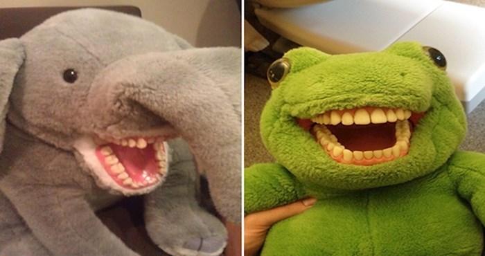 20 čudnih plišanih igračaka koje su ljudi vidjeli kod zubara