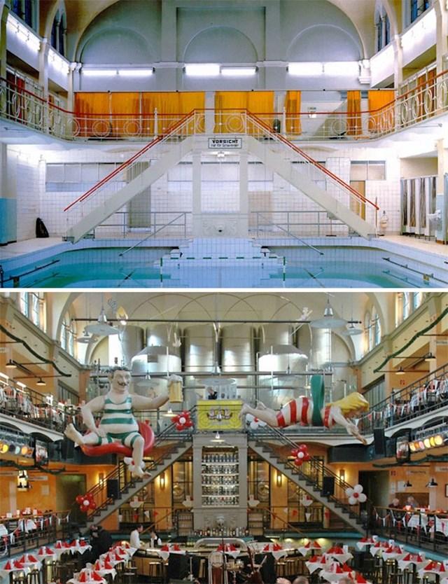 15. Javno kupalište u Njemačkoj prenamijenjeno je u pivovaru. 1993. i danas