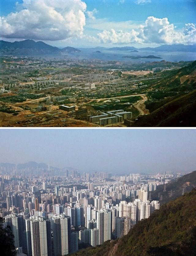 10. Jedan od 18 hongkonških okruga, Kowloon, 1964. i danas