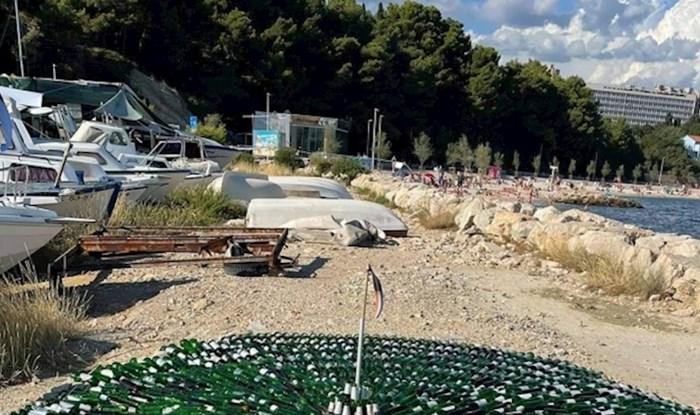 Netko je u Splitu napravio Pozdrav Suncu za siromašne, morate vidjeti ovaj hit kojem se tisuće smiju